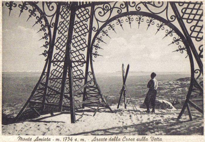 Croce sulle vetta dell'Amiata