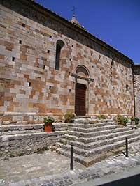 Montefollonico, San Leonardo, fianco