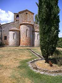 Pieve di San Giovanni Battista a Ponte allo Spino, absis