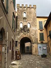 Arcidosso, Porta del Castello