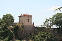 Veduta del Cassero di Roccalbegna