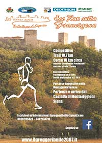 """Sulle orme di Sigerico"". Eco Run on the Via Francigena"""
