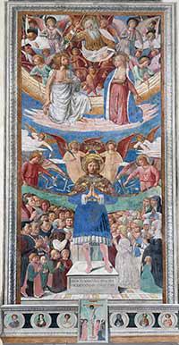 Benozzo Gozzoli, San Sebastiano, 1464