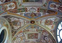 Grotesken, Stanza della Caccia, Casino Gambara in Villa Lante